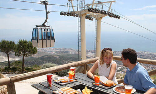 Benalmádena Guide - Stunning views from Benalmádena's cable car
