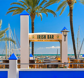 "Estepona Guide - Both Spanish and inviting ""expat""-style bars"