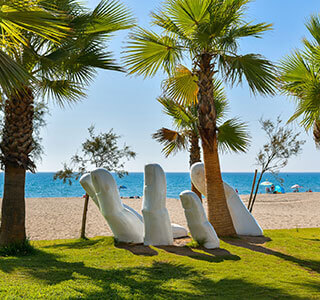 Fuengirola Guide - Modern beach setting in Fuengirola