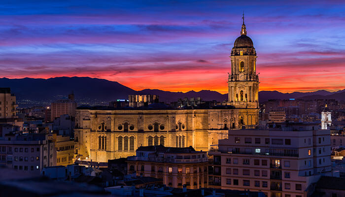 Málaga City Guide - Iconic cathedral rises majestically above Málaga city