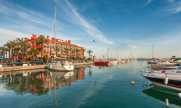 Sotogrande Guide - Sleek fleet of yachts in picturesque marina
