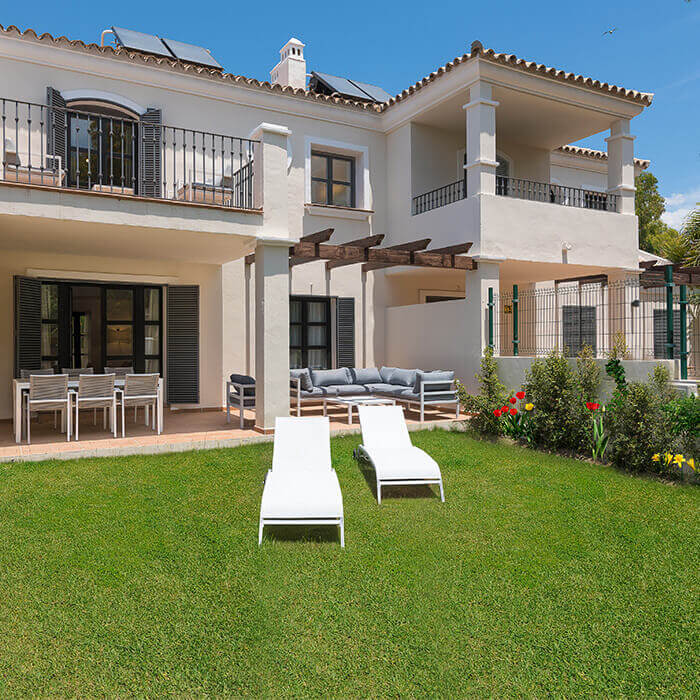 Oasis de Guadamina Baja - New Luxury Villas in Marbella. House nº 6: 4 bedroom, 3 bathroom townhouse