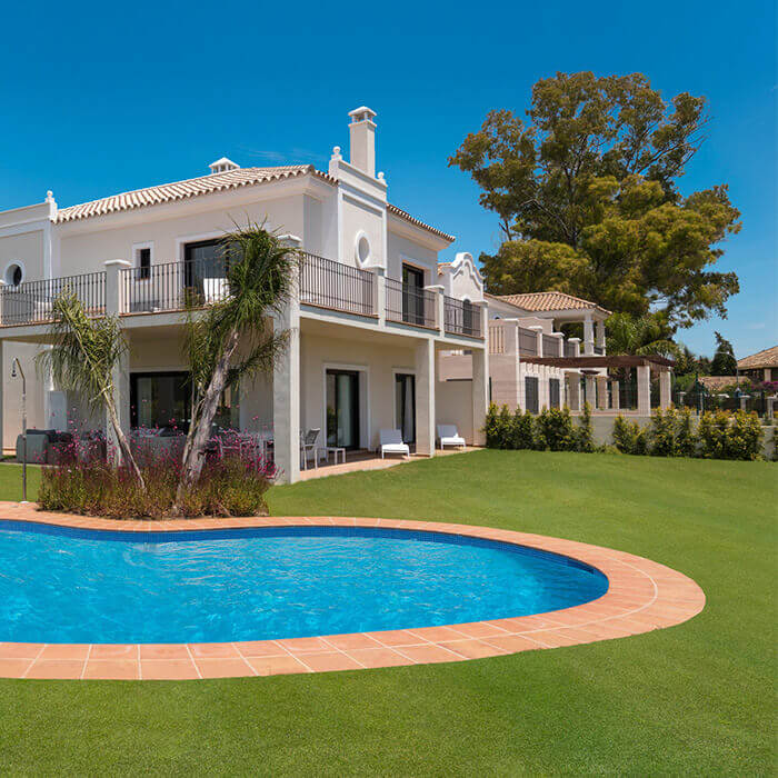 Oasis de Guadamina Baja - New Luxury Villas in Marbella. House nº 8: 5 bedroom, 5 bathroom villa