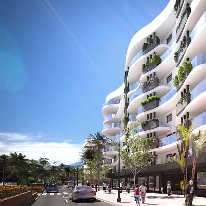Residencial Infinity. New Estepona apartments for sale. The lifestyle you always promised yourself!