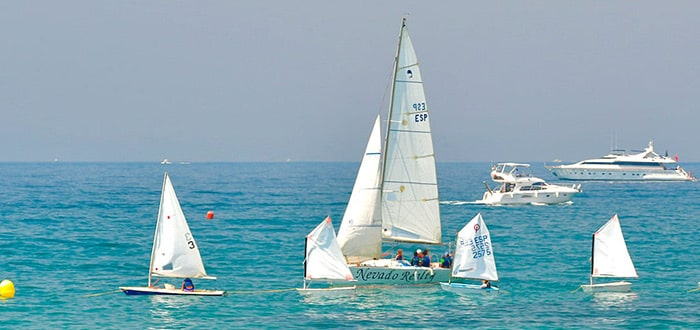 Water sports options are available across the whole Costa del Sol
