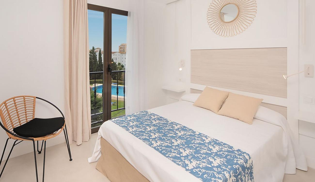Superb reformed main bedroom