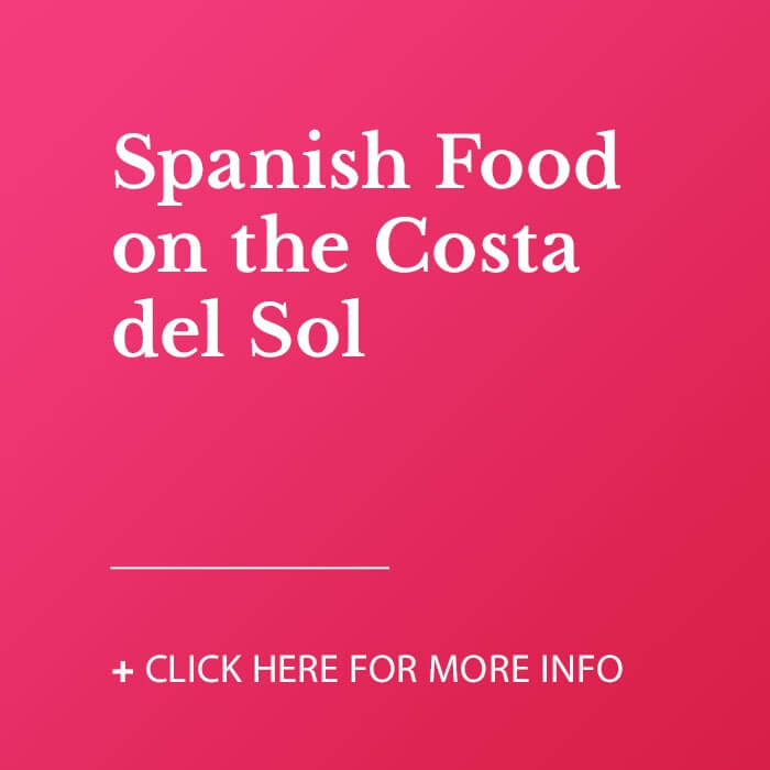 Spanish food on the Costa del Sol