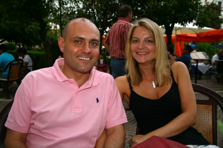Marc Elliott of Fluent Finance Abroad and his partner Kelly