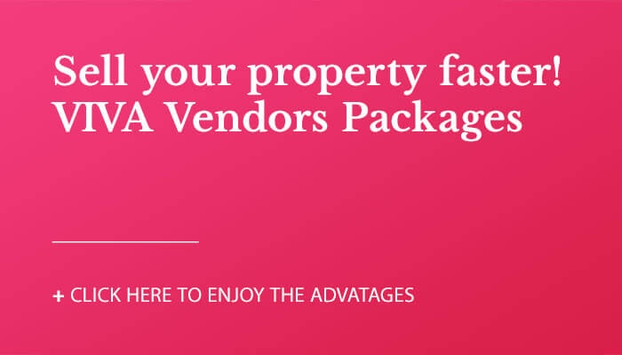 VIVA Vendors Packages. Sell your property Faster!