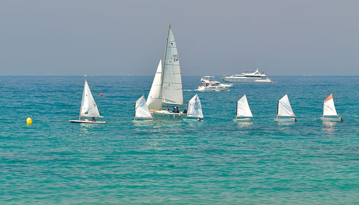 Water sports on the Costa del Sol